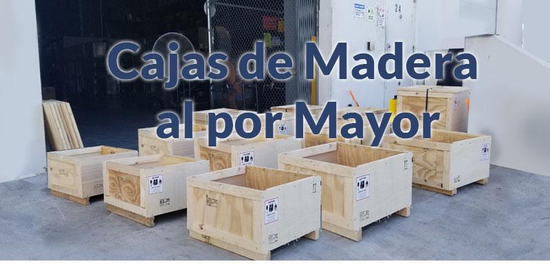 Cajas de Madera al por Mayor