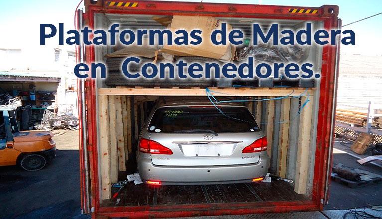 Plataformas de Madera en Contenedores